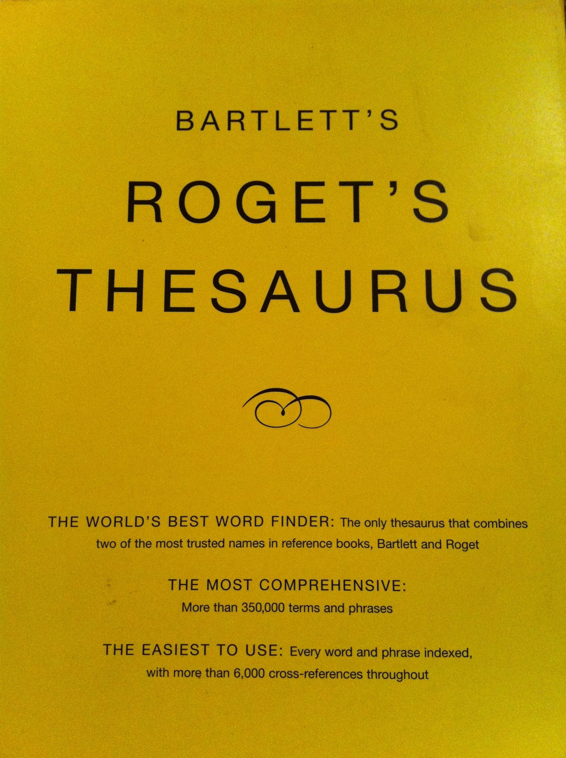 Bartlett's Roget's download bet365 poker bet365 na zywo Thesaurus | Chick Lit Goddess