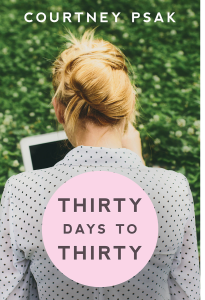 thirty days to thirtynewcover