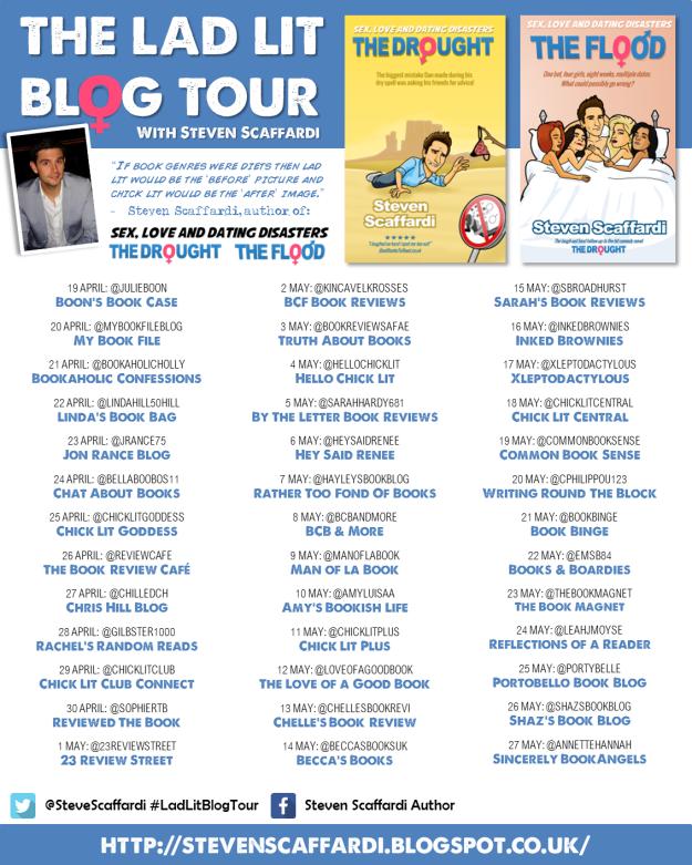 The Lad Lit Blog Tour no giveaway